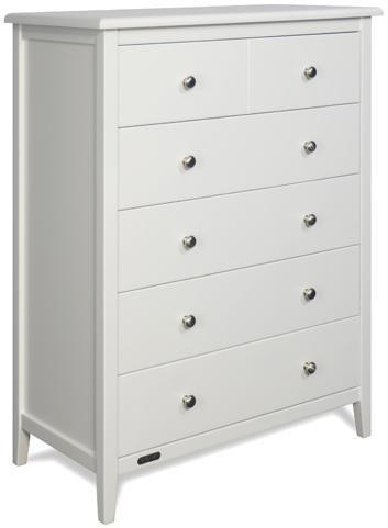 Chest of Drawers.  Grotime Carinda 5 Drawer White
