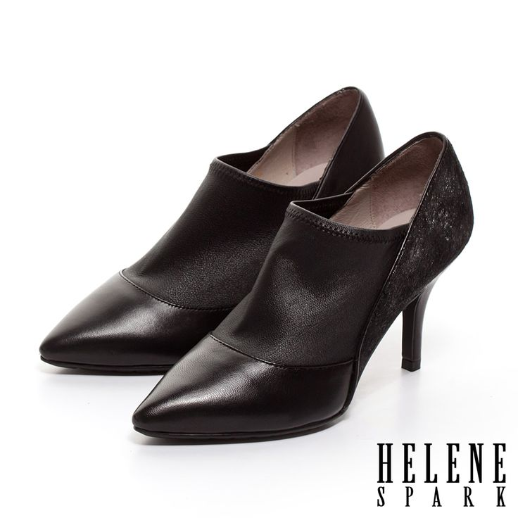 $4224.HELENE SPARK 異材質拼接羊皮高跟踝靴-銀 - Yahoo!奇摩購物中心 銀剩37(12/22)