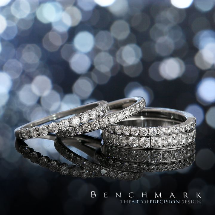 diamonds the and benchmark on diamond round band eternity best cut center fit wedding rings beautiful features this along ideal bands gold mervisdiamonds white pinterest images