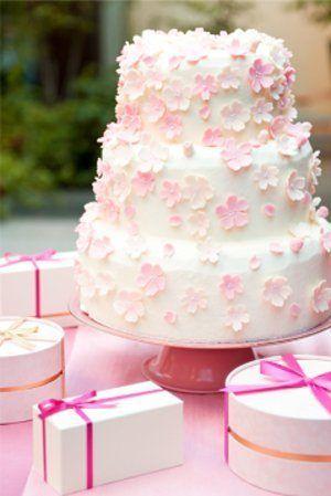和風*ウェディングケーキとケーキ装飾 |ナチュラルカントリーな結婚式*〜遠距離から雪国女子になりました〜