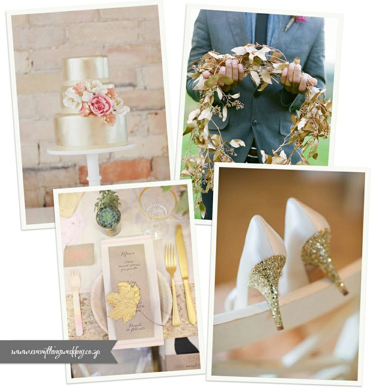 More gold for your wedding!