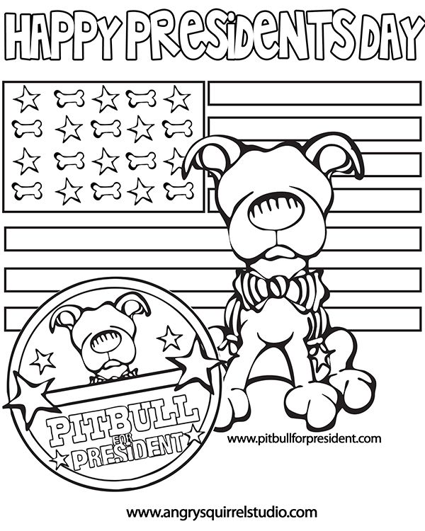 Presidents Day Coloring Pages Printable Free Presidents Day ... | 750x600