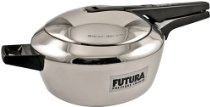 Futura Stainless Steel Pressure Cooker, 5-1/2-Litre