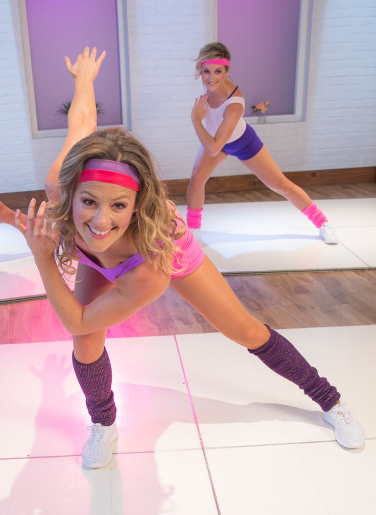 This '80s Workout Will Have You Reaching For Your Sweatband!