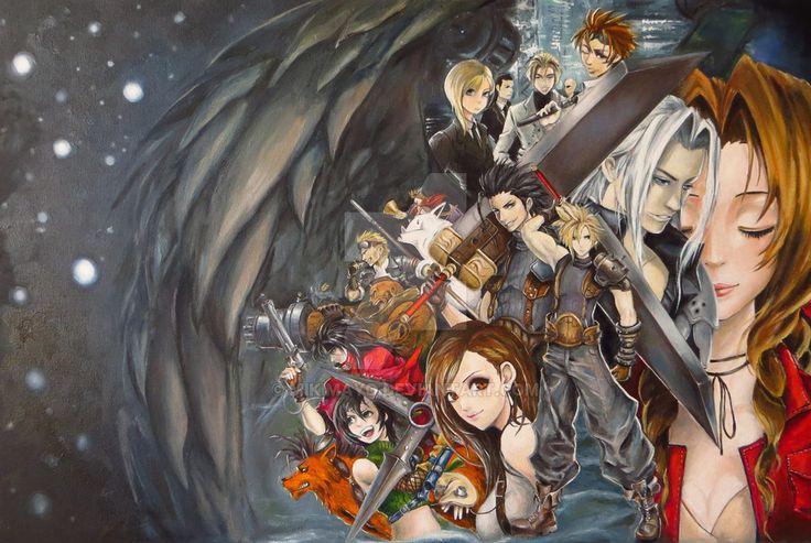 Final Fantasy by MikiMayo