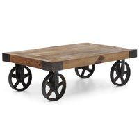 Barbary Coast Factory Cart Table