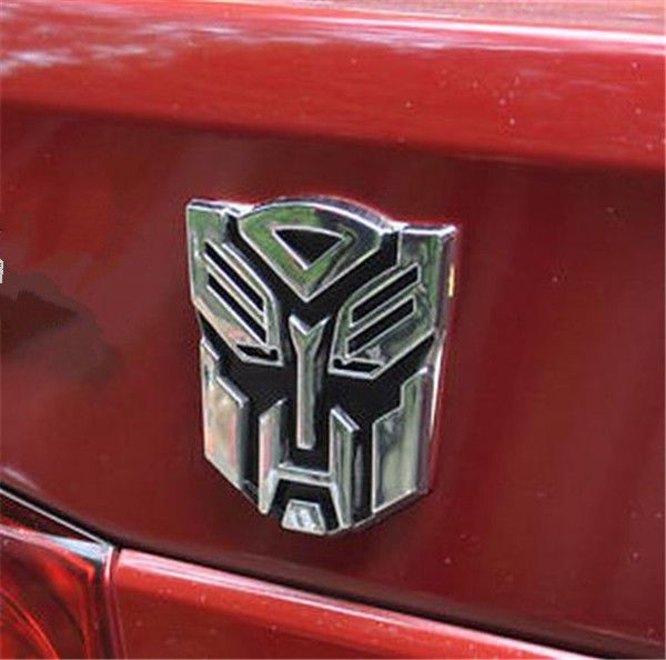 3d Logo Autobot Transformers Optimus Prime Emblem Badge