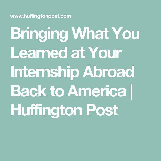 51 best Intern Abroad images on Pinterest Study abroad, French - when to quit your internship