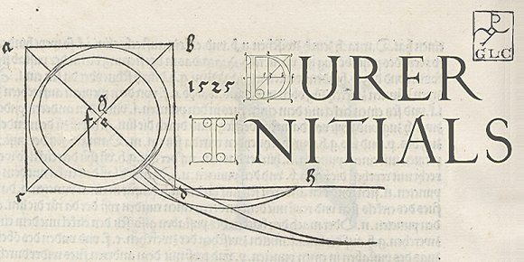 1523 Durer Initials OTF by GLC Foundry on @creativemarket