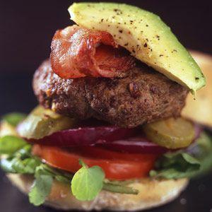hamburger burger braai