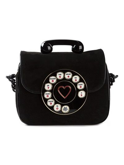 CHARLOTTE OLYMPIA Telephone Shoulder Bag                                                                                                                                                                                 Mais