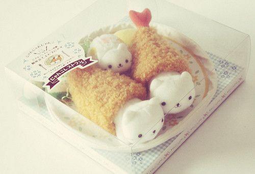 tempura kitty plushies!