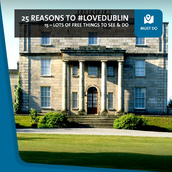 #15: You'll find so many great free things to see and do!  Not only has a trip to Dublin become more affordable than ever, you can also enjoy so many things during your visit without spending a single euro. From museums and galleries to parks and festivals, they're all fantastic – and free!