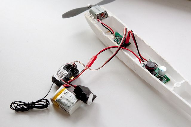 I'm into building RC planes. One problem I had was that couldn't find a guide to the basics of connecting all the electronics parts together (on instructables). Hopefully this I'ble will help you get started with your RC plane. My goal is to give you a general idea of what each component is show you how to hook them up. Biolethal made a very good instructable on a COMPLETE guide to RC electronics so for more detail on each part please read his i'ble. While he thoroughly explains each…
