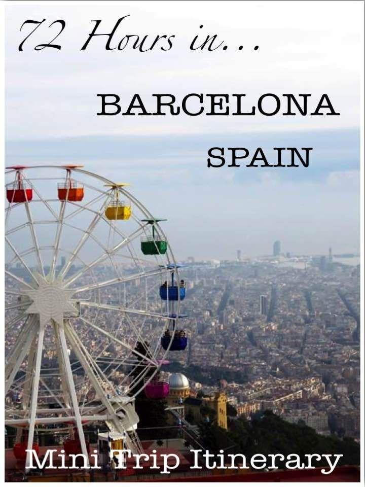 72 Hours in Barcelona Winter City Break