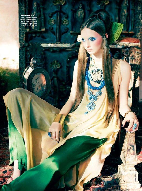"""""""Emerald City"""" from the editorial """"Orient Excess"""" 