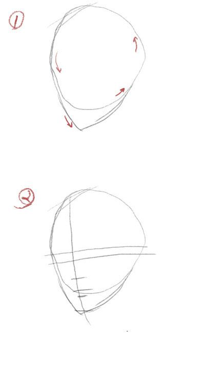 how to draw basic face