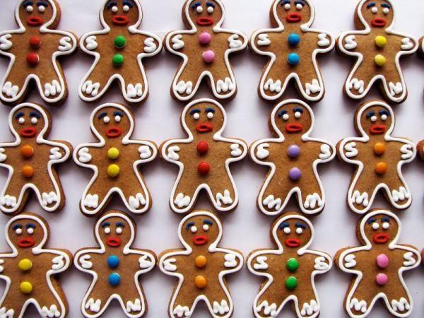 Como fazer biscoito de gengibre