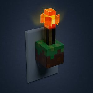 minecraft redstone torch usb wall charger additional image aesthetic lighting minecraft indoors torches