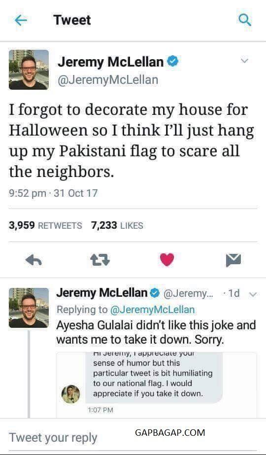 #Funny Tweets About Pakistan vs. Halloween