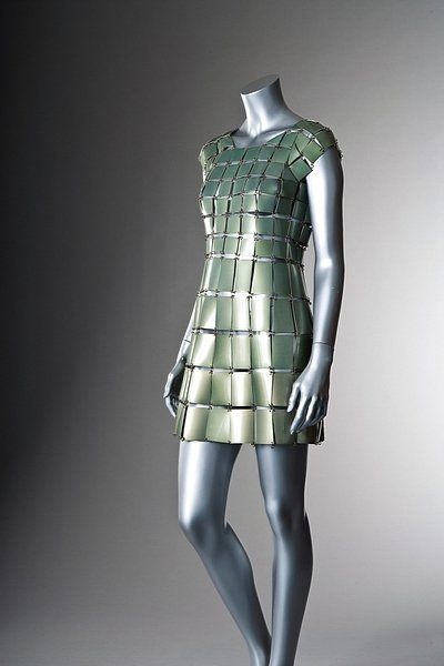 Dress Paco Rabanne, 1967-1970 Kerry Taylor Auctions