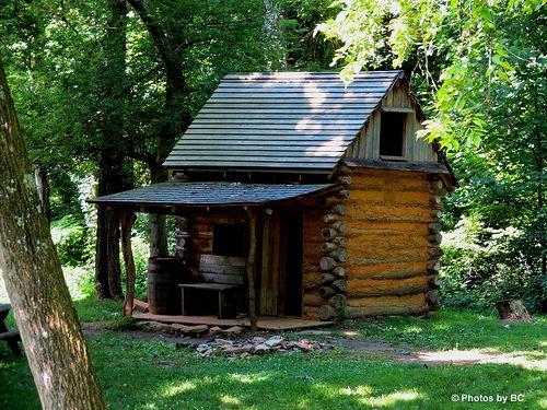 223 best cute cabins images on Pinterest | Log cabins, Small ...