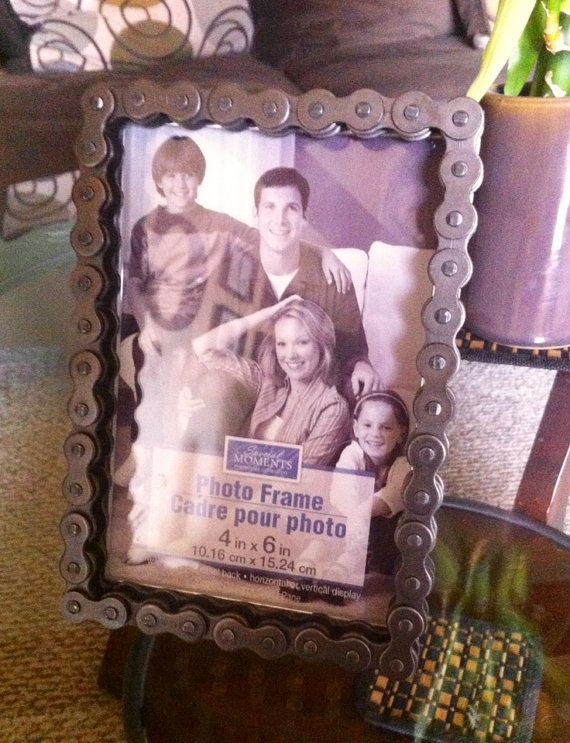 4x6 Chain Picture Frame Dirt Bike Roombike