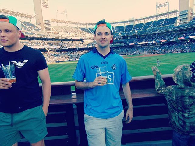 First time at a baseball game. Still dont know whats going on 😂 #sandiego #sandiegopadres #petcopark #baseball #irishnight #j1 #j1experience #cieeworkandtravel #ciee #cieeworktravelers #usittravel #dublingaa #dublin #irish #irishabroad☘️ #california #sandiego #sandiegoconnection #sdlocals #sandiegolocals - posted by Aaron Prendergast https://www.instagram.com/aprencreations. See more post on San Diego at http://sdconnection.com