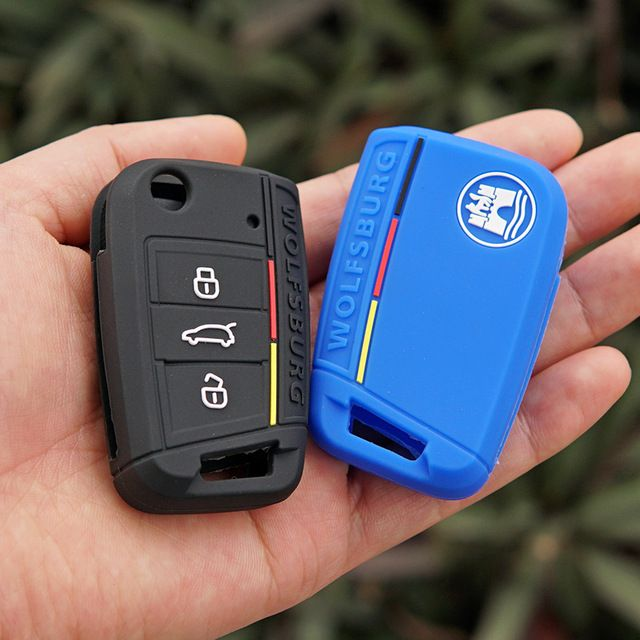 5 Buttons Red Silicone Skin Cover Holder For Nissan Remote Smart Key Case Shell