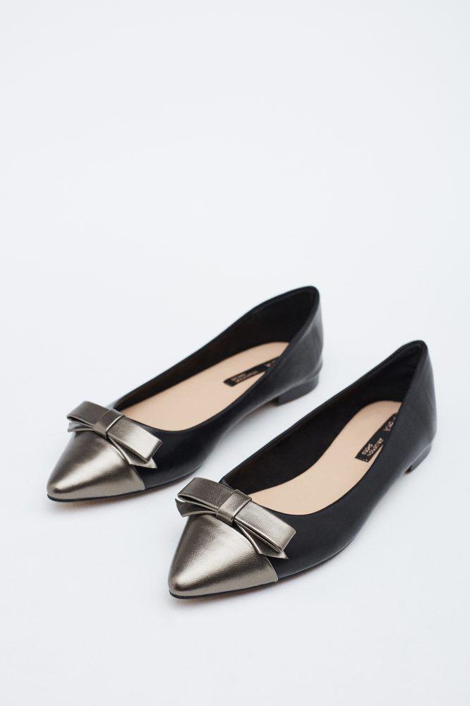 3564c64b1a1 Zapatos planos | Zapatos | SFERA | Zapatos en 2019 | Zapatos planos ...