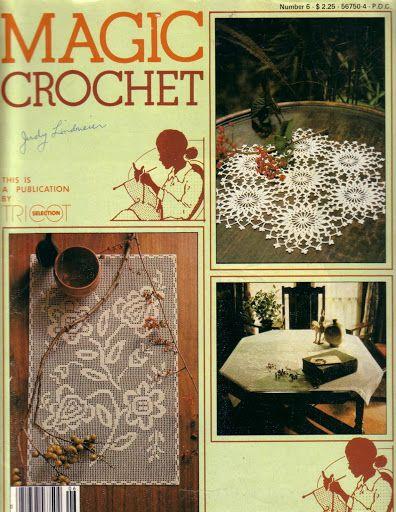 Magic Crochet Nº 06 - Rosio Llamas - Álbuns da web do Picasa