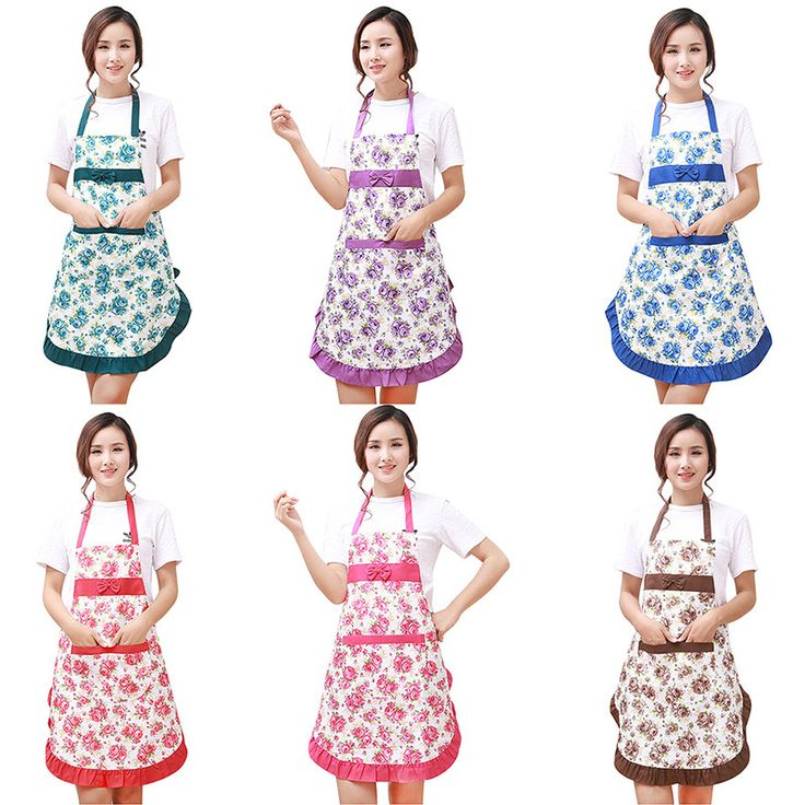 Promotion Special Offer Apron Kit Bib Apron printing Long Sleeve Cuff Waterproof…