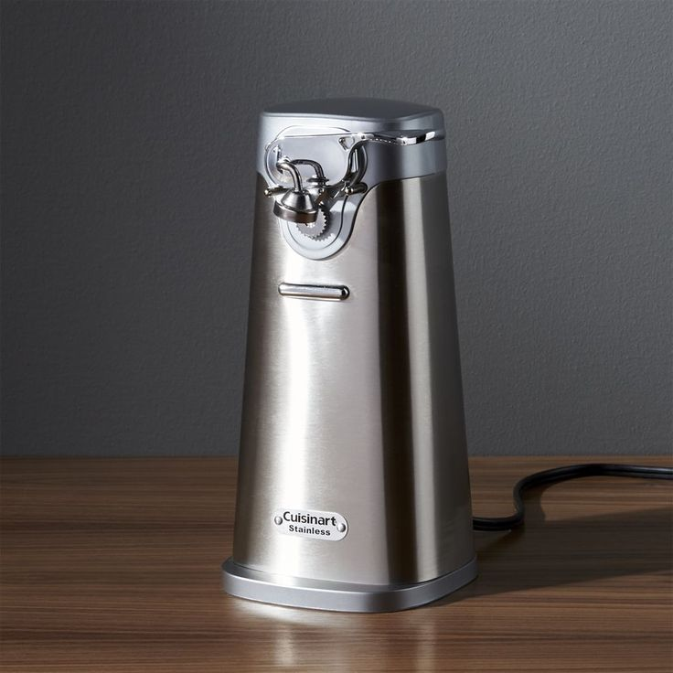 Cuisinart ® Electric Can Opener - Crate and Barrel