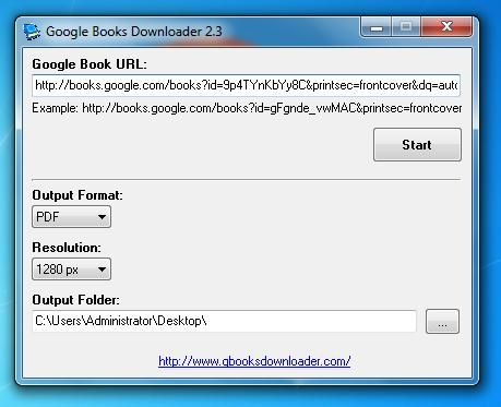 Ebook Google Books Downloader for Windows and Mac OS X