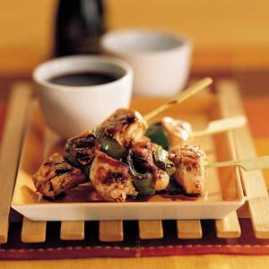 Recept - Kip-paprika yakitori - Allerhande