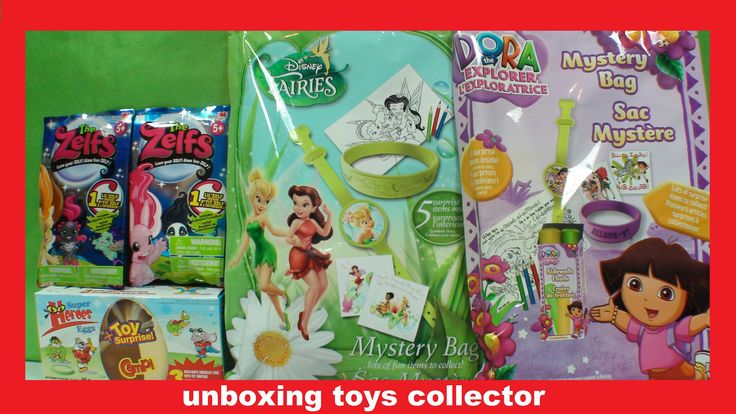 Super Heroes Surprise Eggs The Zelfs Review Mystery Bags Disney Fairies ...