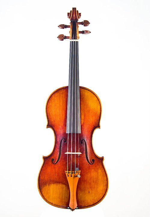 """Copy of violin """" IL Cannone del Gesu- Paganini -1742 , made in 2010 by violin maker Rumen Spirov - Bulgaria- sold by Tarisio Auctions in october London 2011 year , with third prize(bronze medal) in categorie -the best copy of historical instrument in International violinmaking competition -PISOGNE -2010 in Italy"""