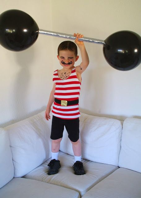 Strong man Circus Style costume how to