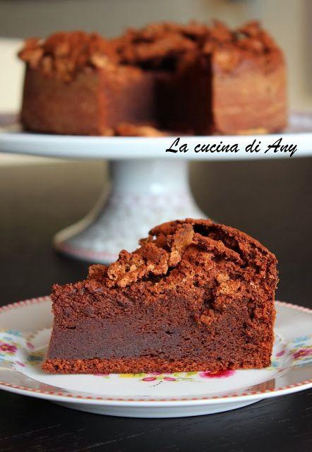 Torta al cioccolato e amaretti - Tort cu ciocolata si amaretti - La cucina di Any
