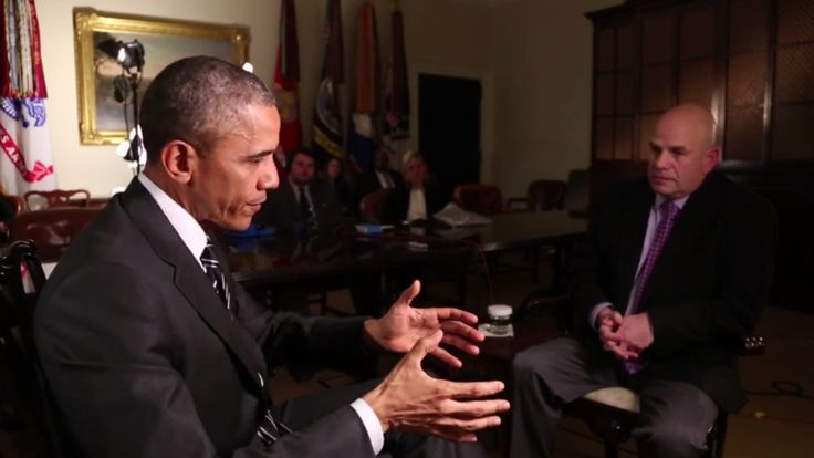 Watch President #Obama interview #David Simon about The #Wire