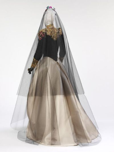 Christian Lacroix 1993 wedding gown