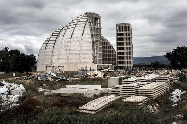 Las cúpulas de la energía de la Ciudad del Medio Ambiente de Soria,...