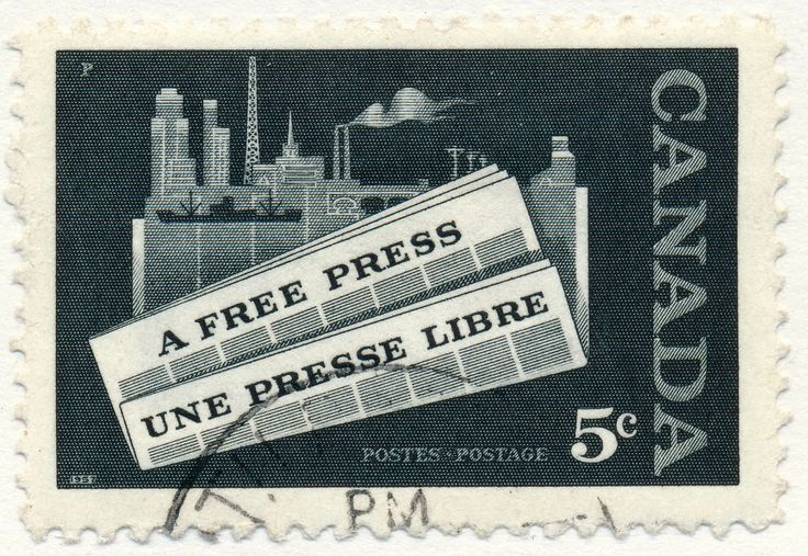 Free press (issued 1958)