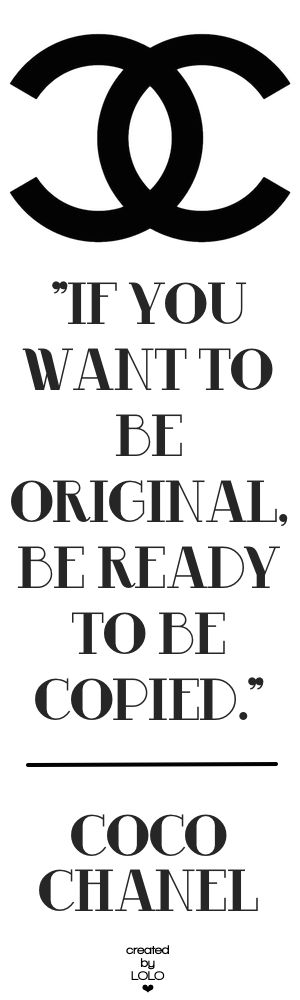 BE ORIGINAL...BE YOU! | LOLO❤︎