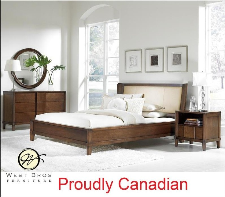 Clean Crisp Modern Bedroom Set Canadian Manufacturer (Sustainable Solid Wood)    http://www.critellifurniture.com/bedroom-suites/bedroom-suites