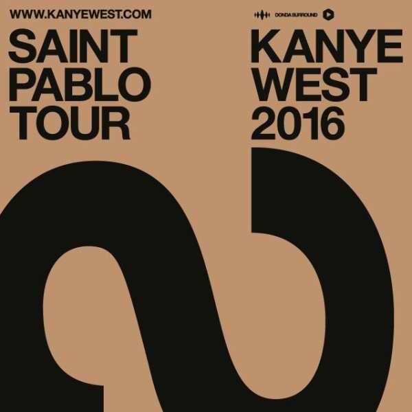 Kanye West 'Saint Pablo' Tour Dates (Extended)