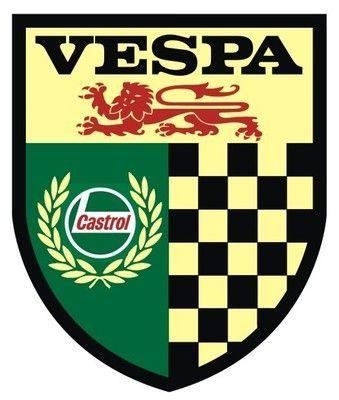 VESPA Retro Castrol Scooter Sticker | eBay £1.99