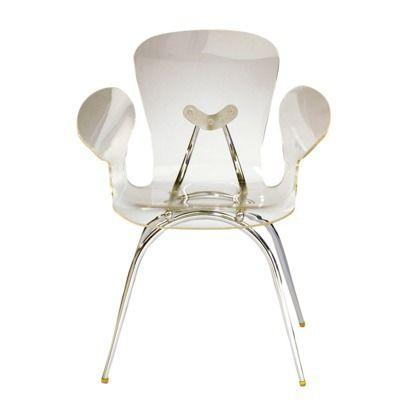 Acrylic Dining Chair - Clear