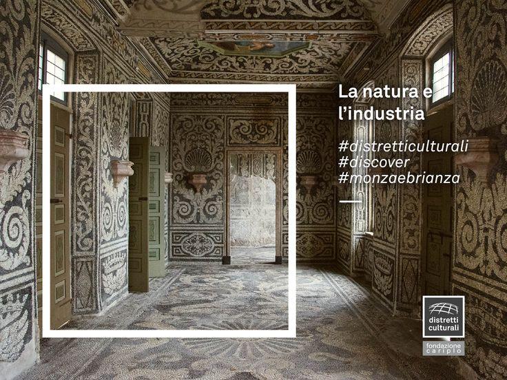 La natura si fa industria e i ciottoli del Lambro diventano mosaico.  Nelle sale alla mosaica di Palazzo Arese Borromeo, a Cesano Maderno, nel Distretto Culturale Evoluto MB, i muri e il pavimento sono decorati da un mosaico fatto di sassolini di fiume bianchi e neri.  #discover #distretticulturali #monzaebrianza  http://www.vivereilpalazzo.it/index.php?url=.%2Fpalazzo_ninfeo.html&no=4&nosub=5