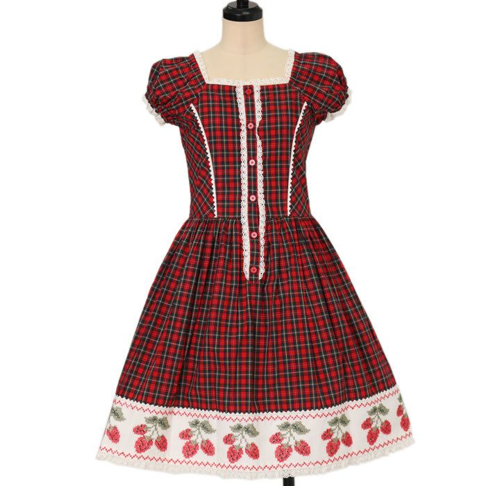 Worldwide shipping available ♪ Shirley Temple ☆ ·. . · ° ☆ red plaid dress https://www.wunderwelt.jp/products/w-16920  IOS application ☆ Alice Holic ☆ release Japanese: https://aliceholic.com/ English: http://en.aliceholic.com/